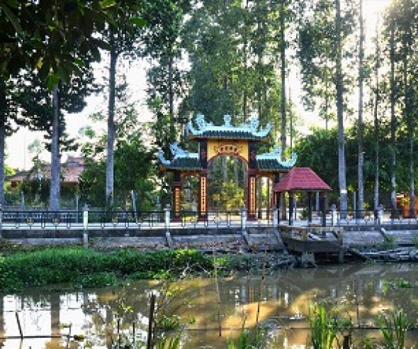 Chiêm ngưỡng ngôi chùa cổ quý hiếm của Nam Bộ trên đất Sen Hồng - Đồng Tháp