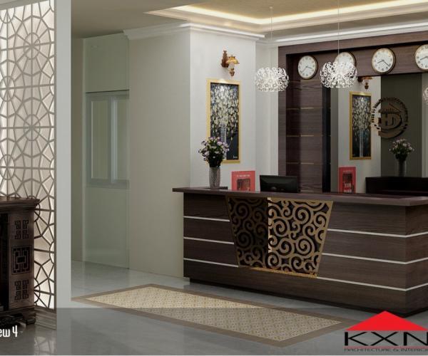 Reception- Coffee Huynh duc hotel