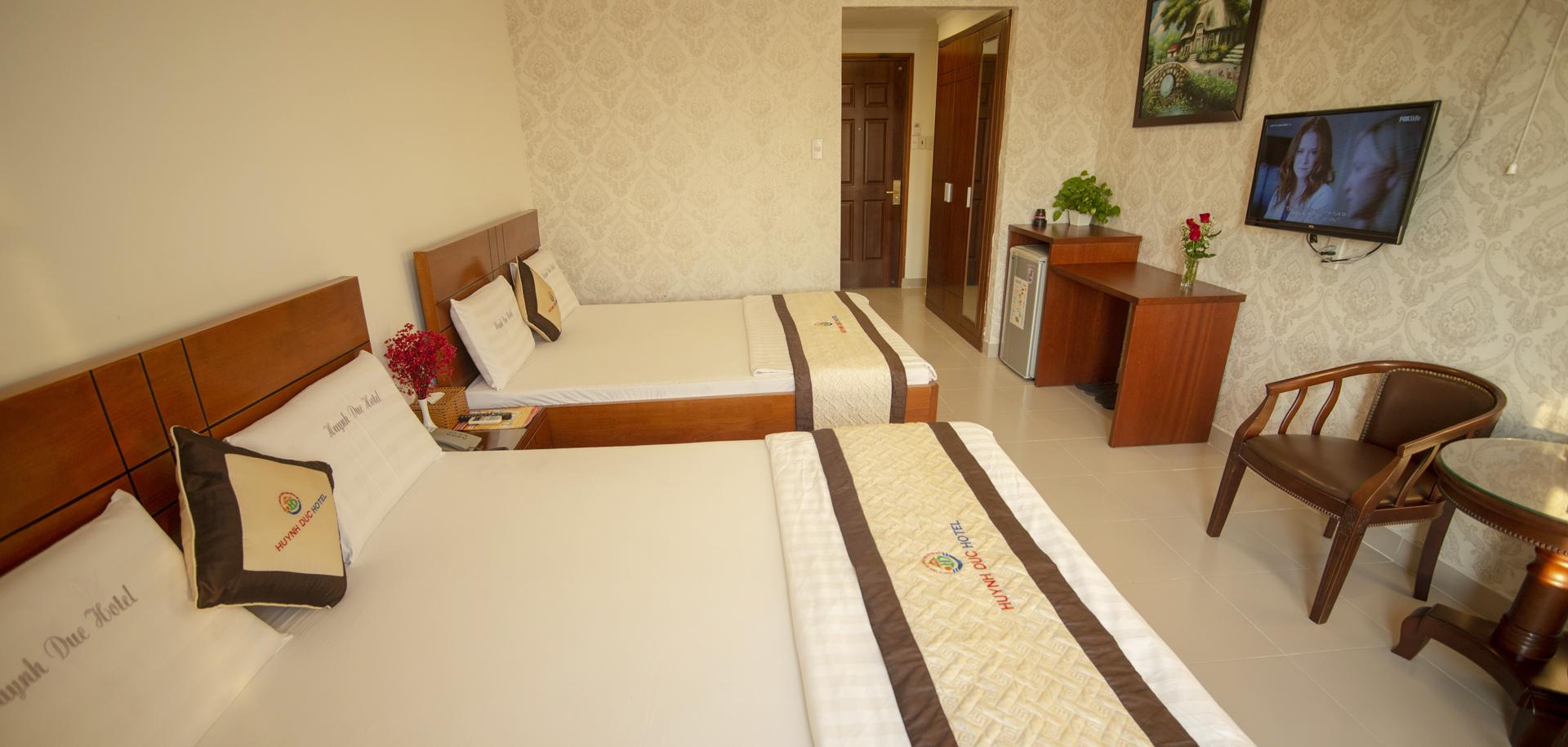 VIP 5-Deluxe Quad Room