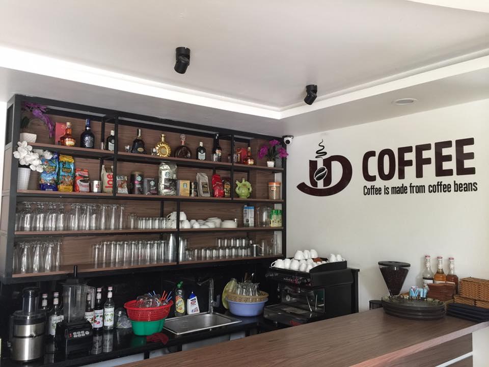 Góc cafe tại khách sạn Huỳnh Đức
